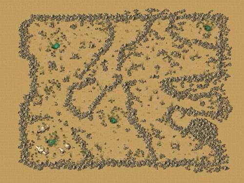 千年游戏地图之黄金沙漠