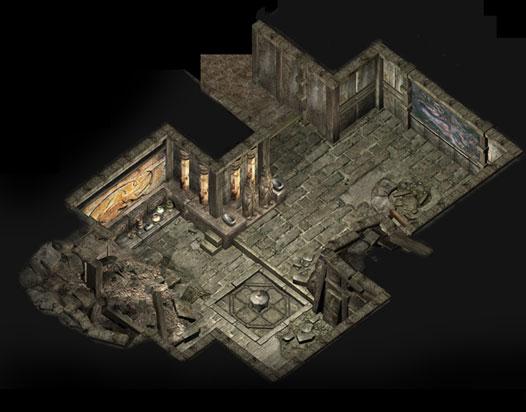 千年游戏里的天空城地图