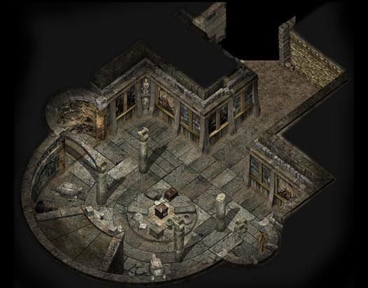 千年游戏密室地图