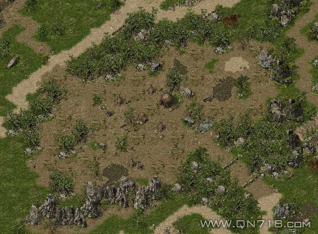 长城以南地图的老虎森林